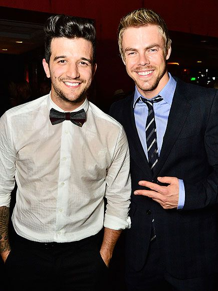 Star Tracks: Friday, August 22, 2014 | THE BOYS ARE ALL RIGHT | Dancing with the Stars pros Mark Ballas and Derek Hough (who will appear on Nashville's next season) show off their brotherly bond Thursday at the OK! TV Awards party at the Sofitel Hotel in L.A.