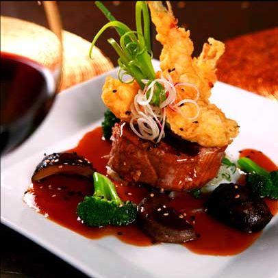Barbados cuisine and restaurant on pinterest for Aura world fusion cuisine