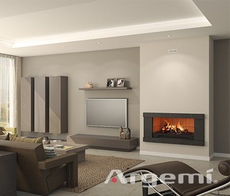 Chimeneas modernas modelo cad con recuperador de calor de altas prestaciones chimeneas obra - Muebles la chimenea catalogo ...