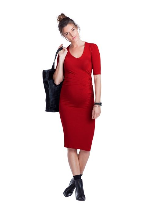 The entire outfit is adorable Arran Maternity Dress