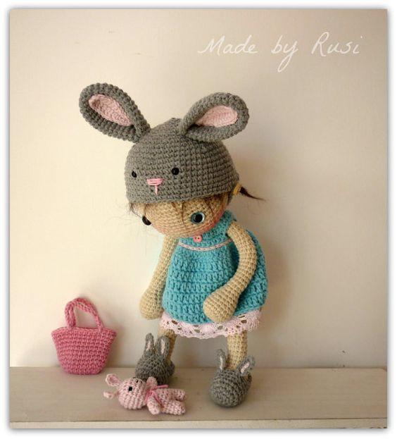 Mu eca amigurumi crochet lirio de rusi dolls mu ecos de ganchillo croch y ganchillo bonito - Munecos para casa de munecas ...