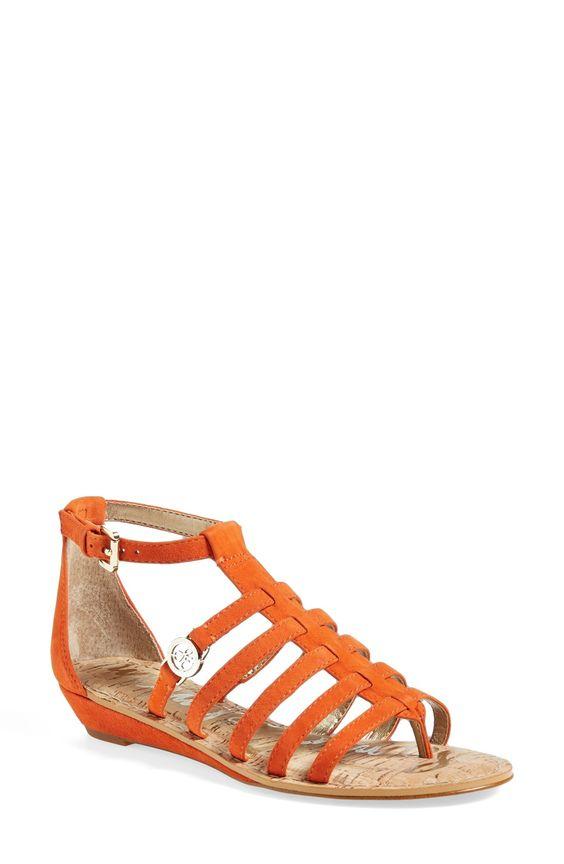 Sam Edelman 'Donna' Leather Gladiator Sandal (Women) | Nordstrom