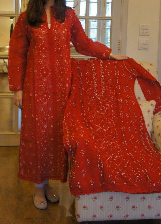 Farida Hasan Lukhnow Kurta Collection 2012-15