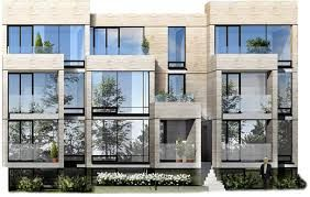 Townhouse projects google search urban rows for Stacked townhouse floor plans