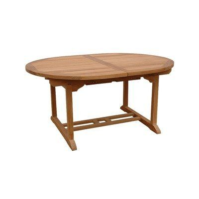 """Bahama 87"""" Oval Extension Dining Table by Anderson Collections. $1485.00. Singlebuilt-in butterfly pop-up leaf. Marine Grade fittings to last in all types of weather. Seats 8 to 10 people. Grade A Teak (extra thick wood). TBX-087VT Features: -Extension table.-Material: Teak wood.-Seats 6 to 8 people.-Come with or without umbrella hole.-Unique built-in butterfly pop-up leaf enables you to open and close your table in 15 seconds.-Leaf folds away for easy storage.-E..."""
