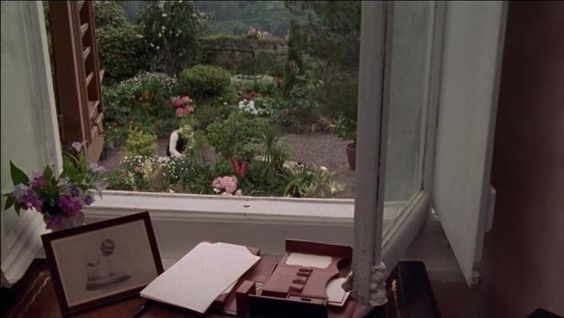 "Oh, to have a view like this!  From the movie ""Enchanted April"":"