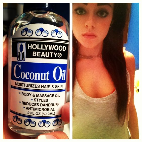 Coconut oil.... Get a quarter sized amount in your palm, then spread into your hair. (Especially the ends and your scalp.) helps with dandruff, and hydrates your hair. The oils and proteins in coconut oil do wonders. My hair has begun to grow so much faster!!!!