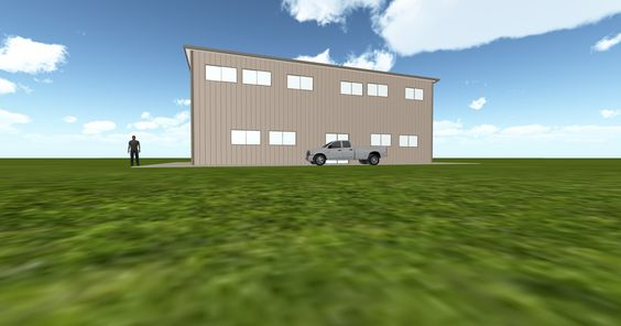 Dream #steelbuilding built using the #MuellerInc web-based 3D #design tool http://ift.tt/1loNkl2