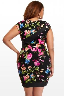 Plus Size Sweet Pea Dress