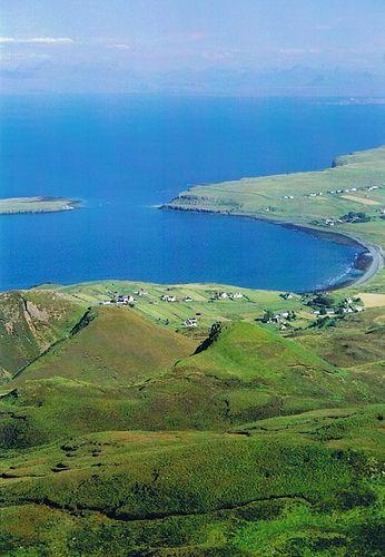 From above Quiraing, looking towards Torridon ~ Isle of Skye, Scotland