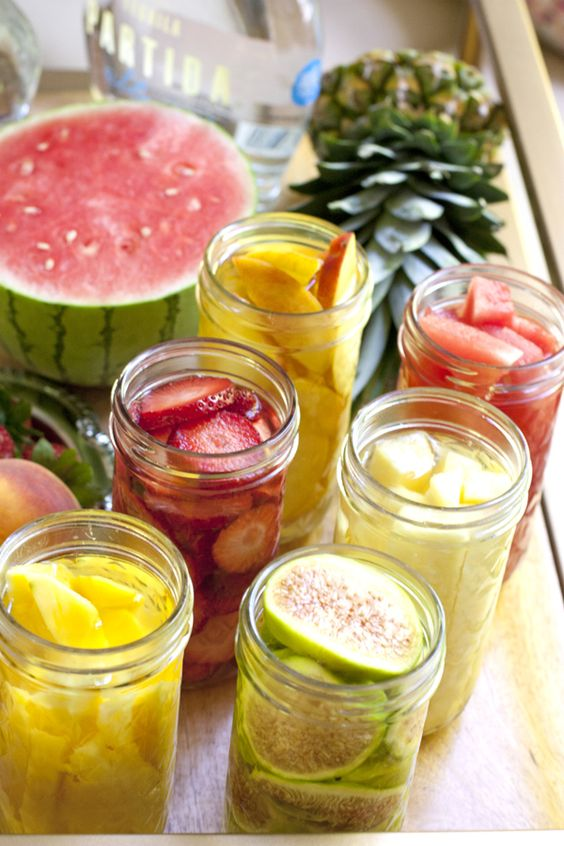 Fruit infused tequila & Tequila Fig Margarita... Yes, please!!!
