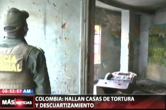 Hallan En Colombia Casas De Tortura Y Desmembramiento. La Población Se Encuentra Aterrada Ante El Suceso