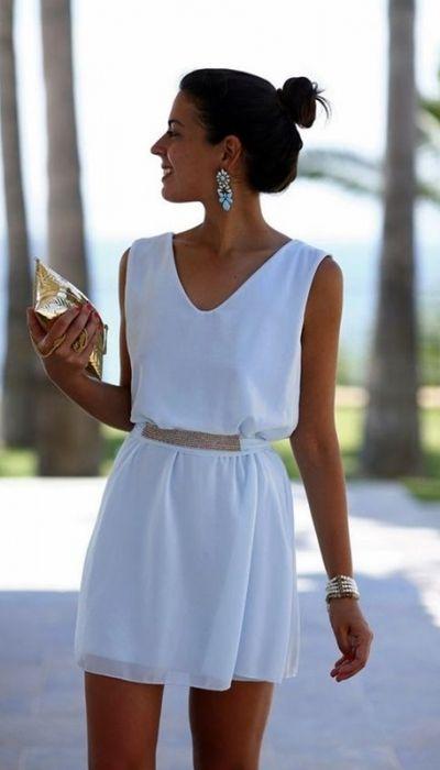O que usar nas festas na praia | Look Reveillon | Branco | Dresses