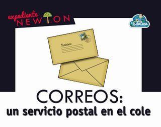 EXPEDIENTE NEWTON   Correos: un servicio postal en el cole   La Eduteca   Bloglovin'