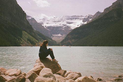 Mountains, lakes, and sunshine.
