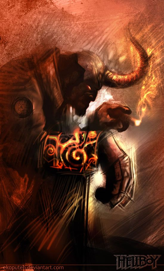 Comic Character Inspiration: Hellboy   Abduzeedo Design Inspiration & Tutorials
