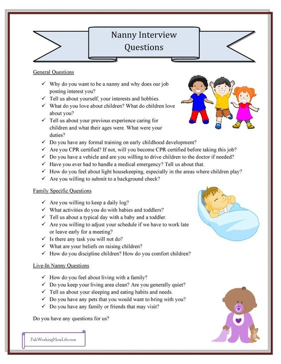 duties of a babysitter