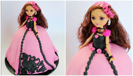 Briar Beauty Ever After High Cake