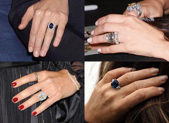 Pictures of Celebrity Engagement Rings Miranda Kerr Kate ...