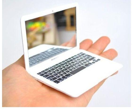 SO CUTE.... Mini MacBook mirror