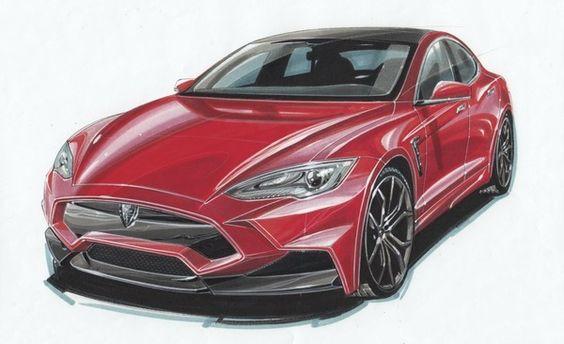 Tesla Model S volgens Larte Design | Autonieuws - AutoWeek.nl