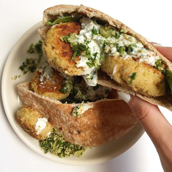 the best damn CRISPY FALAFEL you can make without ahellip