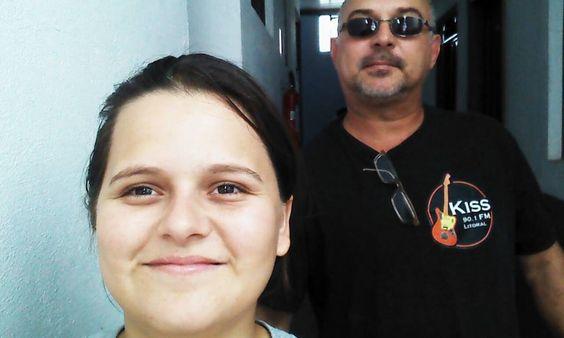 Mariana Giroto e Luiz Carlos De Bernardis Junior