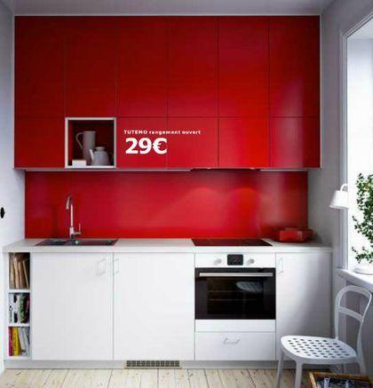 Deux couleurs de façade différentes pour donner du chic à sa cuisine Ikea