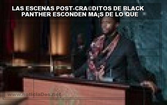 Las Escenas Post Creditos De Black Panther Esconden Mas De Lo Que Parece Categoria Noticias De Cine Lobo El Credo Panther Y Escena