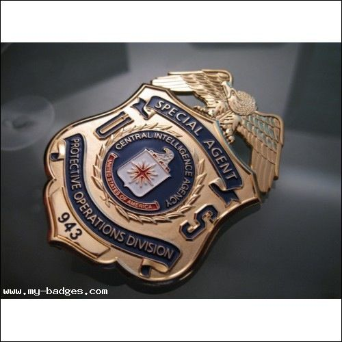CIA Protection Division Special Agent Badge | Law ...