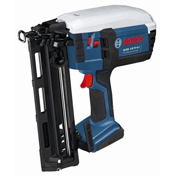 bosch professional 18v li ion cordless nail gun skin only workshop pinterest nails. Black Bedroom Furniture Sets. Home Design Ideas
