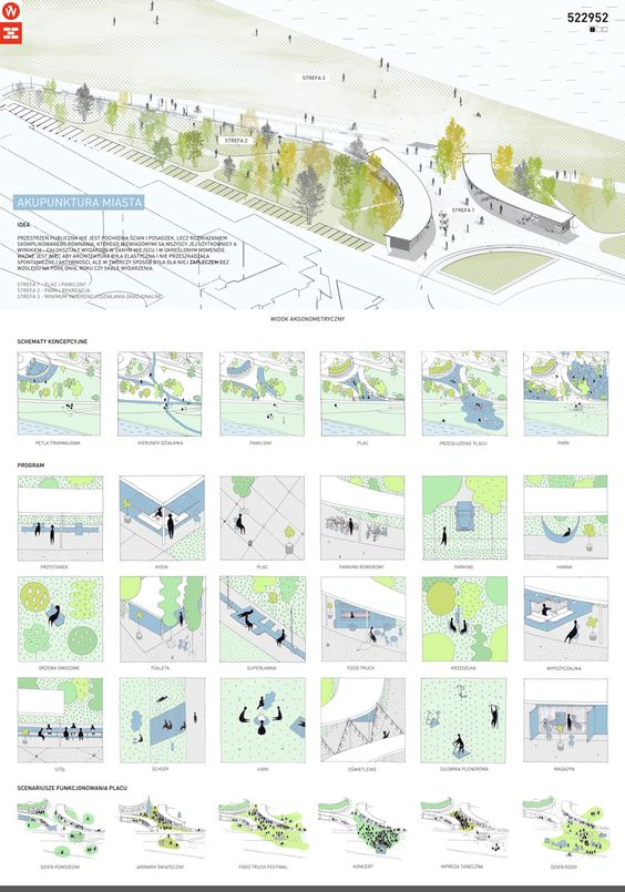 arch_it City Acupuncture public space competition 1st prize in competition for small scale urban intervention City Acupuncture for ECC Wrocław 2016 - Architecture Daily