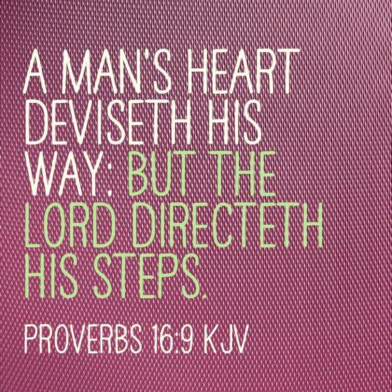 Proverbs16:9