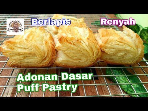 Part 1 Pastry Adonan Dasar Puff Pastry Berlapis Lapis Bisa Dibekukan Youtube Pastry Puff Pastry Adonan