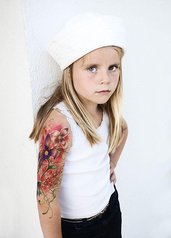 Felt Pen Tattoo Fake Kids Sailor Heart Drawing Dosfamily