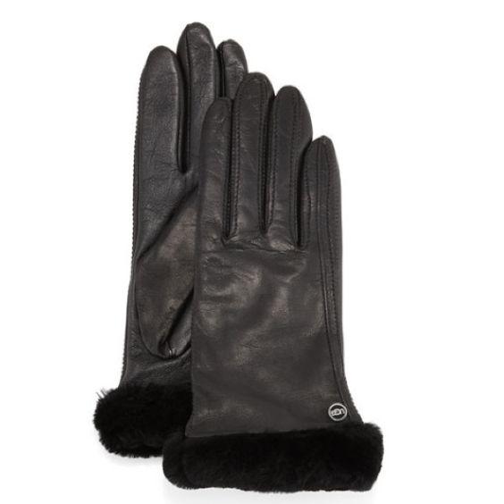 Ugg Classic Conductive Leather Smart Glove