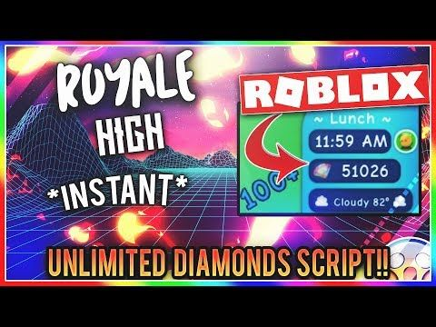 comment hacker roblox 2020 Working Roblox Hack Royale High Instant Unlimited Diamonds Script Free Aug 02 Youtube In 2020 Roblox Roblox Funny Diamond Free