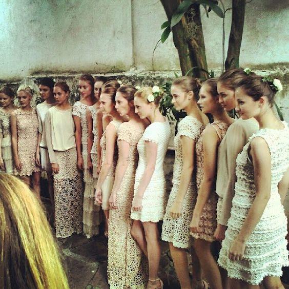 coleção Vanessa Montoro / roupas em crochet #fashioncrochet