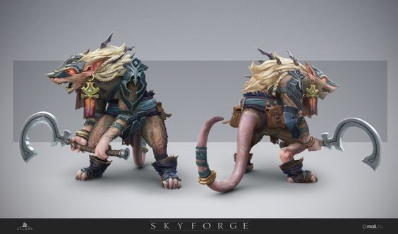 Skyforge online concept art