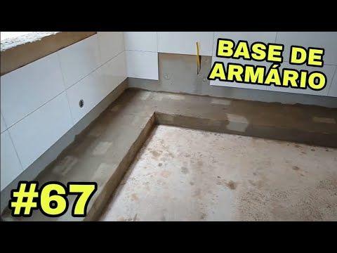 67 Como Fazer Base De Alvenaria Para Pia E Armario De Cozinha