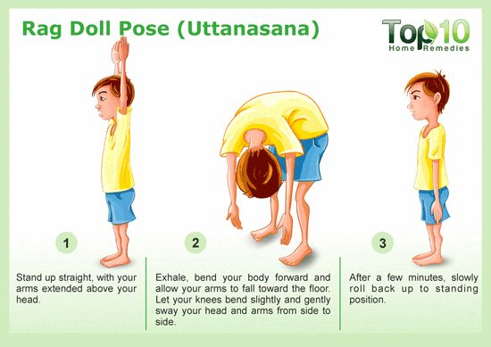 Rag Doll Yoga Pose
