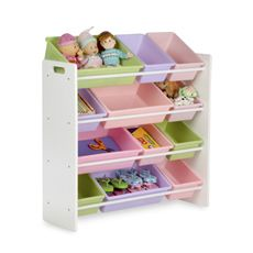 Honey-Can-Do Kids Toy Organizer and Storage Bins - Pastel $54.99