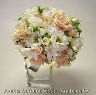 white cream wedding bouquets - Google Search