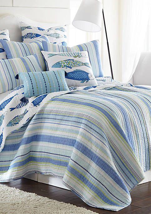 Kochi Fish Quilt Set Quilt Sets King Quilt Sets Bed Decor