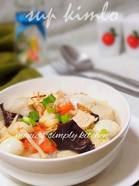 Sup Kimlo Resep Masakan Resep Makanan Resep Masakan Indonesia
