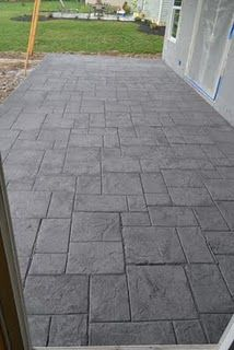 Stamped Concrete Concrete Patio Designs Concrete Patio Stamped