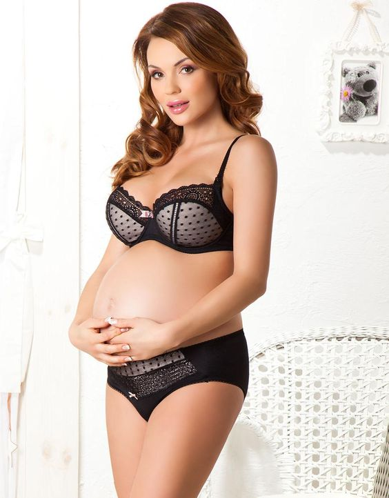 even expecting mom's can wear great lingerie