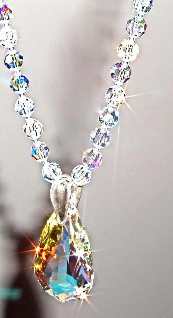 how to clean old crystal jewelry