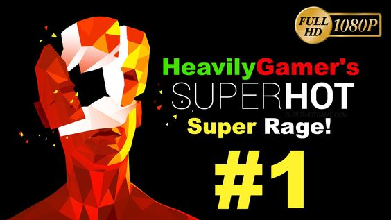 SuperHot (Super Rage) PC Gameplay Walkthrough Part 1:I Am Neo From Matrix!