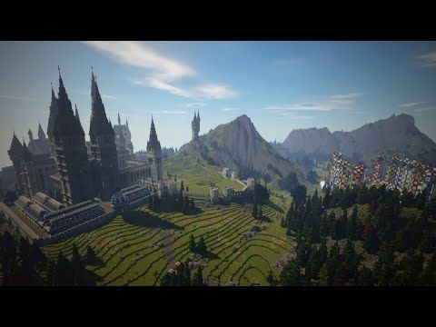 The Floo Network Created A Full Fledged Harry Potter Universe Rpg And They Did It In Another Game In Minecraft Wizardry Minecraft School Adventure Map
